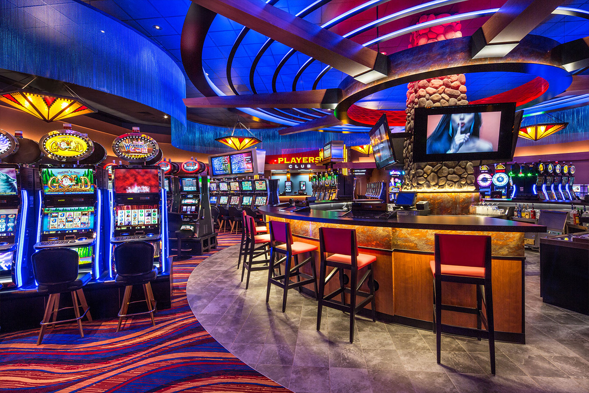 bar at the casino
